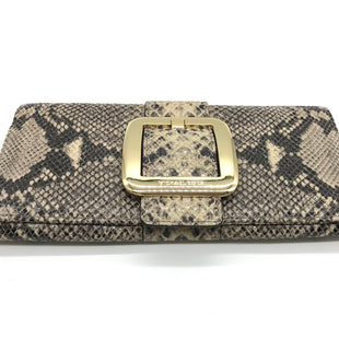 Primary Photo - BRAND: MICHAEL KORS STYLE: CLUTCH COLOR: SNAKESKIN PRINT SKU: 262-26275-73110DESIGNER BRAND FINAL SALE AS IS