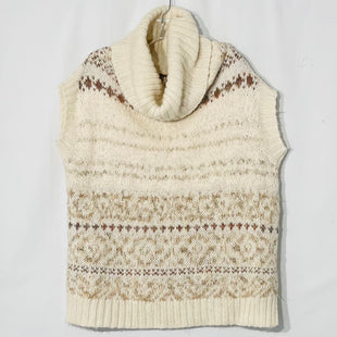 Primary Photo - BRAND: FREE PEOPLE STYLE: SWEATER LIGHTWEIGHT COLOR: GEOMETRIC CREAMSIZE: S SKU: 262-26275-7627927% WOOL