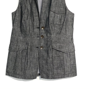 Primary Photo - BRAND: RAG AND BONE STYLE: VEST COLOR: GREY SIZE: XS SKU: 262-26241-42298100% COTTON