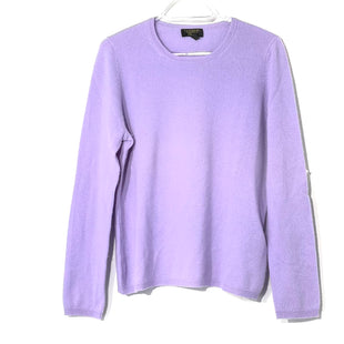 Primary Photo - BRAND: CHARTER CLUB STYLE: SWEATER CASHMERE COLOR: LILAC SIZE: L OTHER INFO: SKU: 262-262101-2074GENTLE PILLING AS IS100% CASHMERE