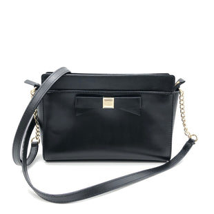 "Primary Photo - BRAND: KATE SPADE STYLE: HANDBAG DESIGNER COLOR: BLACK SIZE: SMALL 6""H X 9.5""L X 2.5""WDROP: 22""SKU: 262-26275-76416IN GREAT SHAPE AND CONDITION"