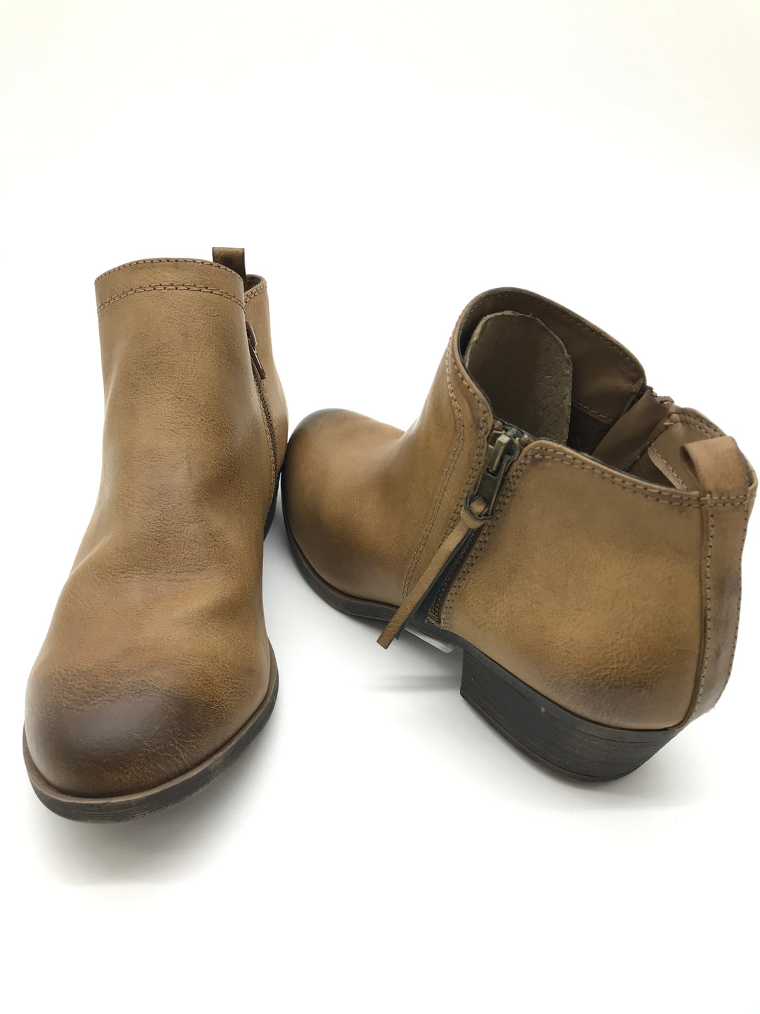 Primary Photo - BRAND:  SERRA<BR>STYLE: BOOTS ANKLE <BR>COLOR: TAN <BR>SIZE: 9 <BR>SKU: 262-26275-57199<BR>AS IS