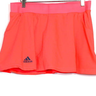 Primary Photo - BRAND: ADIDAS STYLE: ATHLETIC SKIRT SKORT COLOR: NEON SIZE: M SKU: 262-26275-64289