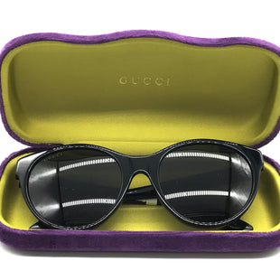 Primary Photo - BRAND: GUCCI STYLE: SUNGLASSES COLOR: BLACK SKU: 262-26275-66056BRAND NEW WITH A TAG