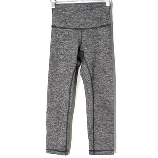 Primary Photo - BRAND: LULULEMON STYLE: ATHLETIC CAPRIS COLOR: GREY SIZE: 4 SKU: 262-26211-144293DESIGNER FINAL