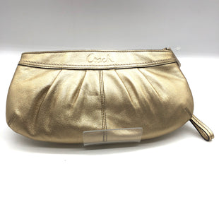 Primary Photo - BRAND: COACH STYLE: WRISTLET COLOR: GOLD SIZE: M SKU: 262-26211-143863