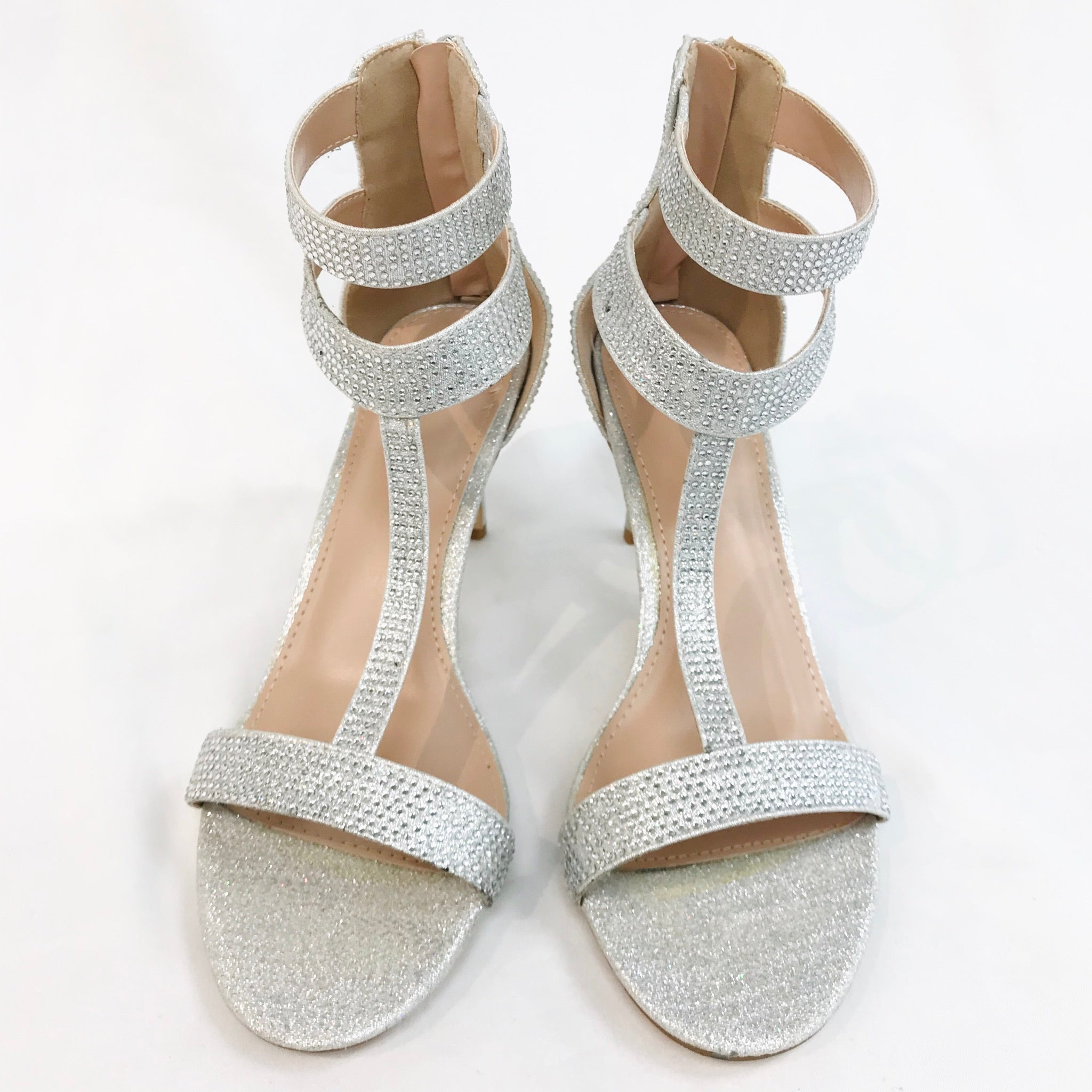 Primary Photo - BRAND: WINDSOR <BR>STYLE: SANDALS LOW<BR>COLOR: SPARKLES <BR>SIZE: 8 <BR>SKU: 262-26275-55473<BR>- AS IS -