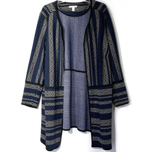 Primary Photo - BRAND: DANA BUCHMAN STYLE: SWEATER CARDIGAN LIGHTWEIGHT COLOR: GEOMETRIC SIZE: 2X SKU: 262-26211-143547