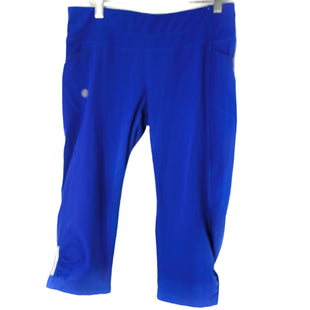 Primary Photo - BRAND: ATHLETA STYLE: ATHLETIC CAPRIS COLOR: ROYAL BLUE SIZE: M SKU: 262-26211-143219