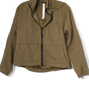 Primary Photo - BRAND: LULULEMON STYLE: ATHLETIC JACKET COLOR: OLIVESIZE: 2 SKU: 262-26275-68207