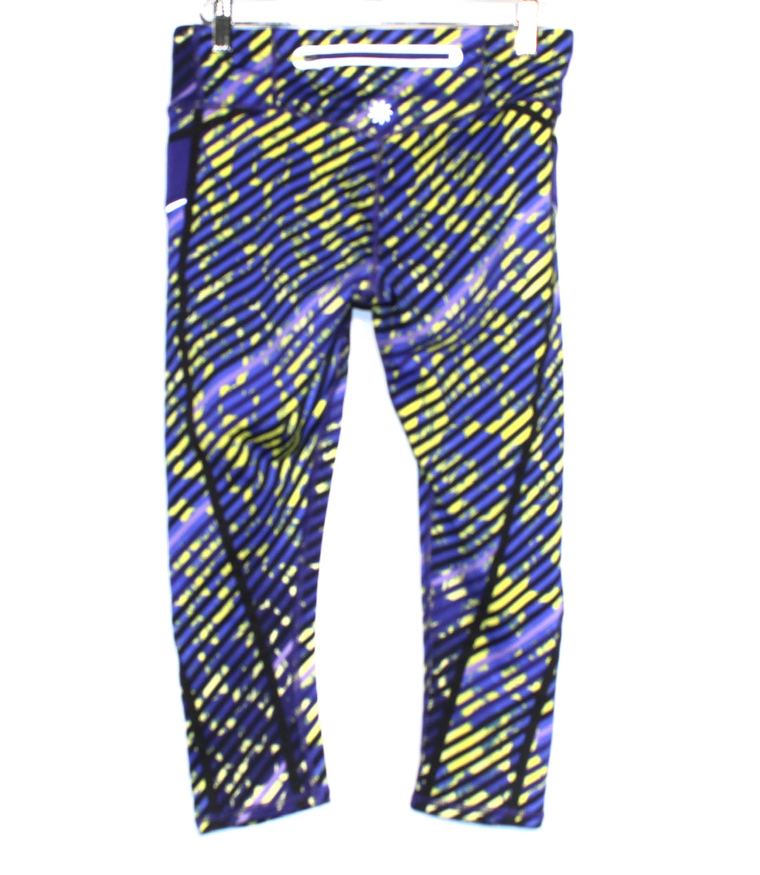 Photo #1 - BRAND: ATHLETA <BR>STYLE: ATHLETIC CAPRIS <BR>COLOR: BLUE GREEN <BR>SIZE: XS <BR>SKU: 262-262101-923