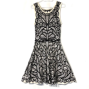 Primary Photo - BRAND: BCBGMAXAZRIA STYLE: DRESS SHORT SLEEVELESS COLOR: BLACK WHITE SIZE: S SKU: 262-26275-74906