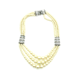 Primary Photo - BRAND:  BANANA REPUBLIC STYLE: NECKLACE COLOR: PEARLSKU: 262-26275-74546AS IS