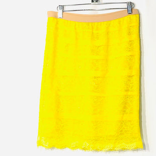 Primary Photo - BRAND: BCBGMAXAZRIA STYLE: SKIRT COLOR: YELLOW SIZE: XS SKU: 262-26275-74897PURCHASE WITH MATCHING TOP (SEE PHOTOS)
