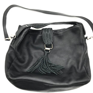 "Primary Photo - BRAND: ROMYGOLD STYLE: HANDBAG COLOR: BLACK SIZE: LARGE OTHER INFO: ROMYGOLD - SKU: 262-26275-68938APPROX. 13.5""L X 12""H X 5""D."