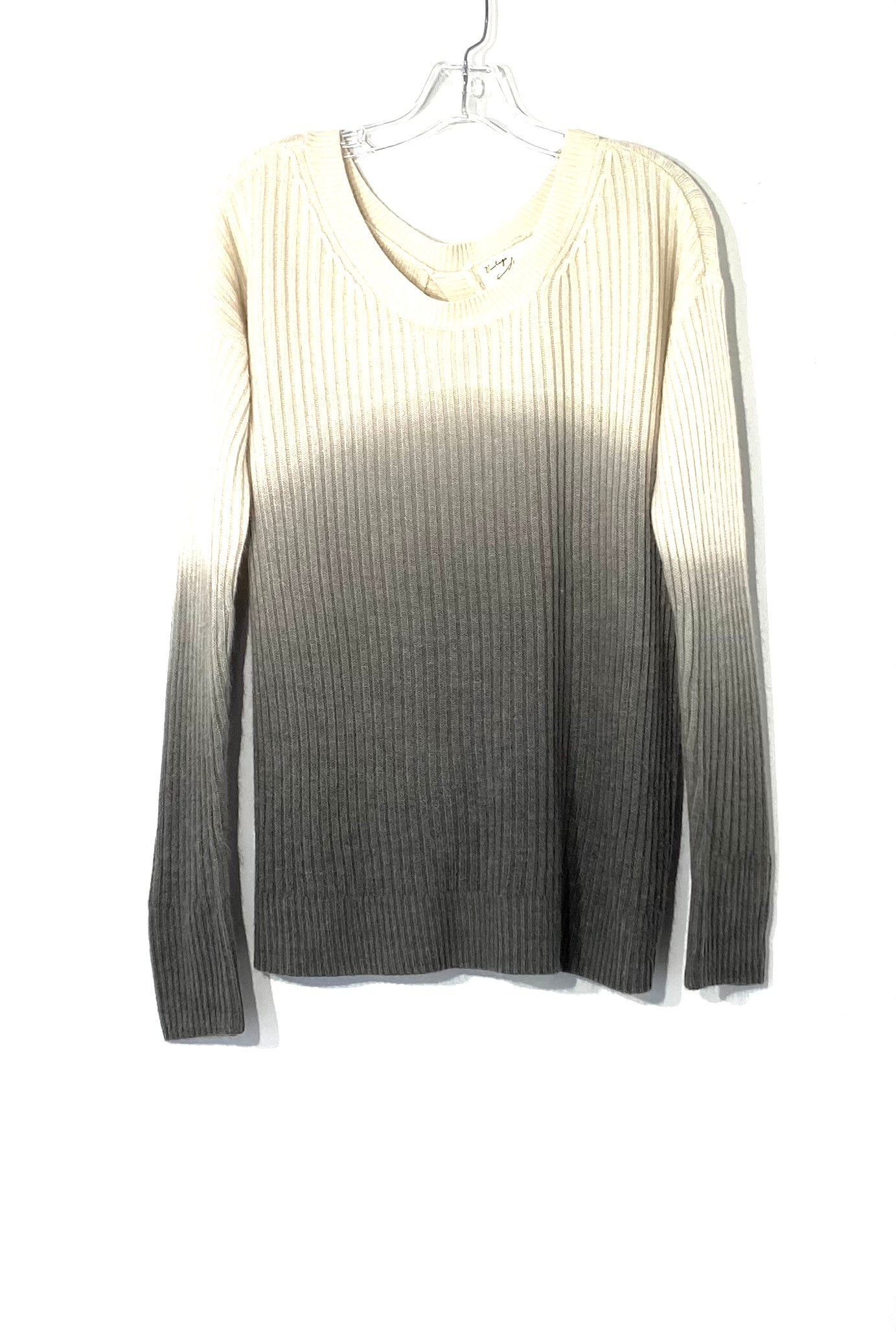 Primary Photo - BRAND: VINTAGE HAVANA <BR>STYLE: SWEATER LIGHTWEIGHT <BR>COLOR: GREY WHITE <BR>SIZE: S <BR>SKU: 262-26275-72364