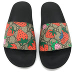 Photo #1 - BRAND: GUCCI <BR>STYLE: SANDALS FLAT <BR>COLOR: MONOGRAM <BR>SIZE: 6 <BR>SKU: 262-26275-65273<BR><BR>BEAUTIFUL CONDITION.