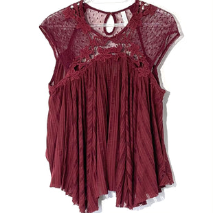 Primary Photo - BRAND: FREE PEOPLE STYLE: TOP SLEEVELESS COLOR: MAROON SIZE: SSKU: 262-26275-78766