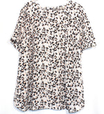 Primary Photo - BRAND: ANN TAYLOR LOFT <BR>STYLE: TOP SHORT SLEEVE <BR>COLOR: ANIMAL PRINT <BR>SIZE: 2X/20<BR>SKU: 262-26285-2574