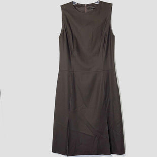 Primary Photo - BRAND: THEORY STYLE: DRESS SHORT SLEEVELESS COLOR: DARK BROWNSIZE: L /12SKU: 262-26241-4617797% WOOLDESIGNER FINAL