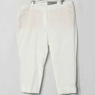 Primary Photo - BRAND: TALBOTS STYLE: CAPRIS COLOR: WHITE SIZE: 18 WPSKU: 262-26275-60764PERFECT CROP