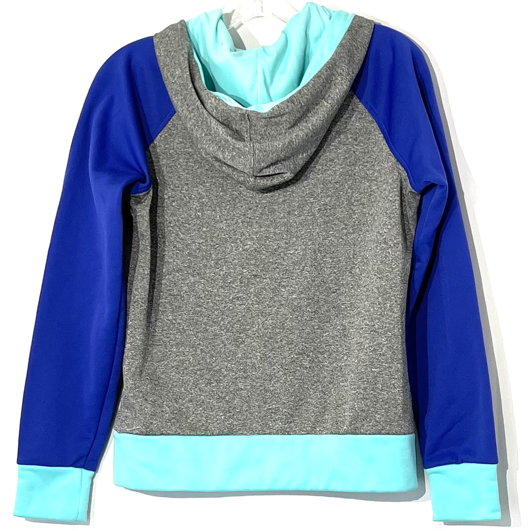 Photo #1 - <P>BRAND: NORTHFACE <BR>STYLE: ATHLETIC TOP <BR>COLOR: BLUE GREEN <BR>SIZE: S <BR>SKU: 262-26275-75343</P> <P>GENTLEST PILLING IN HOODIE AS IS</P>