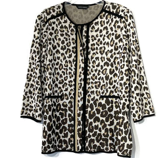 Primary Photo - BRAND: MING WANG STYLE: TOP LONG SLEEVE SWEATER COLOR: LEOPARD PRINT SIZE: XL SKU: 262-262101-2496SIZE TAG CUT AS IS NO GUARANTEE OF FIT