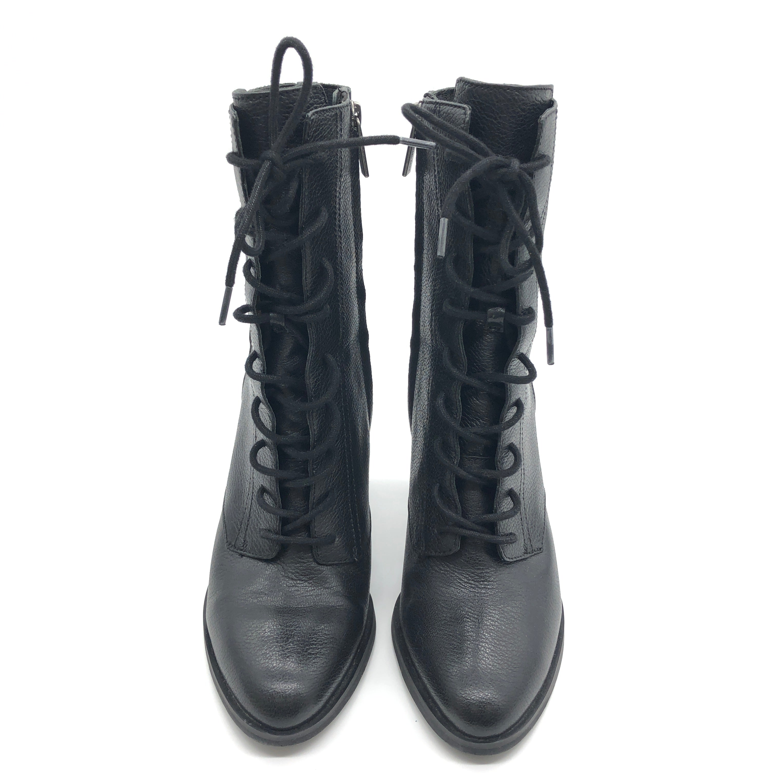 Photo #1 - BRAND: MICHAEL KORS <BR>STYLE: BOOTS ANKLE <BR>COLOR: BLACK <BR>SIZE: 7 <BR>SKU: 262-262101-2051<BR>IN GOOD SHAPE AND CONDITION