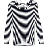 Primary Photo - BRAND: NORDSTROM <BR>STYLE: TOP LONG SLEEVE <BR>COLOR: STRIPED <BR>SIZE: S <BR>SKU: 262-26211-138907<BR>95% VISCOSE<BR>5% SPANDEX <BR>STRETCHY!