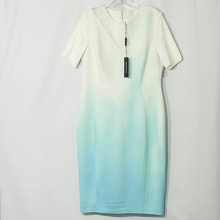Primary Photo - BRAND: ELIE TAHARI STYLE: DRESS SHORT SHORT SLEEVE COLOR: MINT WHITESIZE: XL /14SKU: 262-26275-67646DESIGNER FINAL 5% ELASTANE ACTUAL COLOR IS MORE MINT THAN PHOTOS SHOW