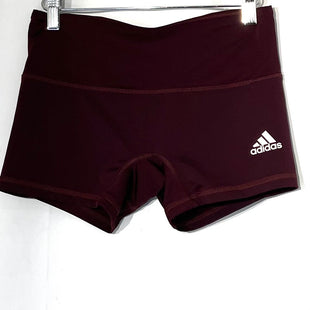 Primary Photo - BRAND: ADIDAS STYLE: ATHLETIC SHORTS COLOR: MAROON SIZE: M SKU: 262-26275-75517