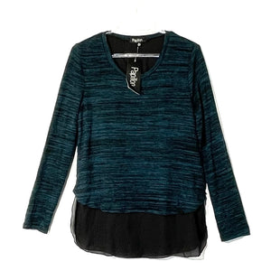 Primary Photo - BRAND: PAPILLION STYLE: TOP LONG SLEEVE COLOR: TEAL SIZE: M SKU: 262-26275-62930