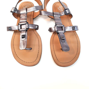 Primary Photo - BRAND: FRANCO SARTO STYLE: SANDALS FLAT COLOR: METALLIC SIZE: 8 SKU: 262-26298-387AS IS
