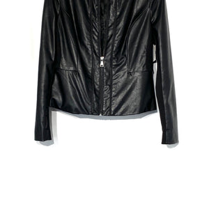 Primary Photo - BRAND: BEBE STYLE: JACKET OUTDOOR COLOR: BLACK SIZE: M SKU: 262-26275-67973LEATHER LOOKDESIGNER FINAL