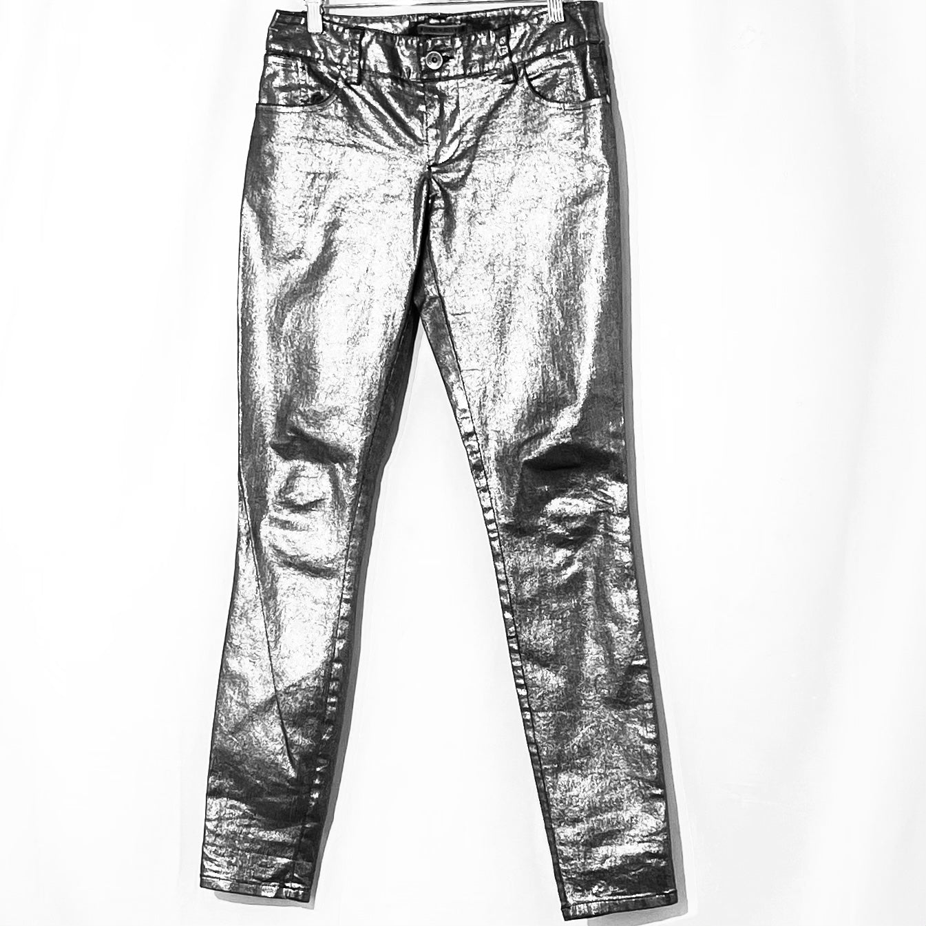 Primary Photo - BRAND: ALICE + OLIVIA <BR>STYLE: PANTS <BR>COLOR: METALLIC <BR>SIZE: 4 <BR>SKU: 262-26275-75851