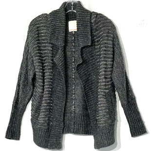 Primary Photo - BRAND: REBECCA TAYLOR STYLE: SWEATER CARDIGAN LIGHTWEIGHT COLOR: GREY SIZE: S SKU: 262-26275-67866MOHAIR WOOL METALLIC