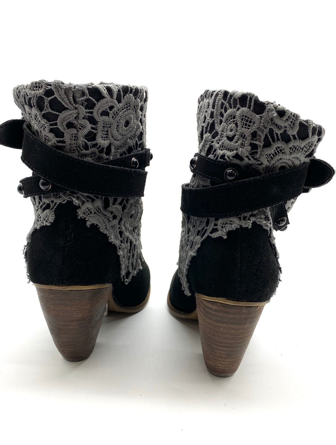 Photo #3 - BRAND: NAUGHTY MONKEY <BR>STYLE: BOOTS ANKLE <BR>COLOR: BLACK <BR>SIZE: 8 <BR>SKU: 262-26275-59177