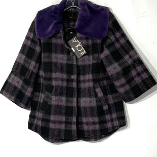 Primary Photo - BRAND: LOLA STYLE: JACKET OUTDOOR COLOR: PLAID PURPLESIZE: S /MSKU: 262-26211-142318