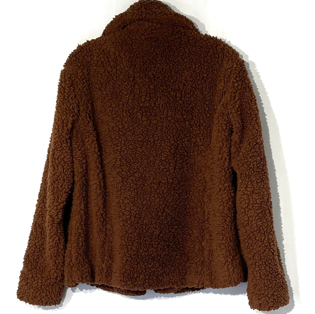 Photo #1 - BRAND: CASLON <BR>STYLE: JACKET OUTDOOR <BR>COLOR: BROWN <BR>SIZE: S <BR>SKU: 262-26275-75251<BR>GENTLEST PILLING AS IS SOFT!