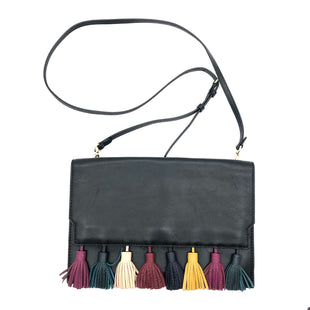"Primary Photo - BRAND: REBECCA MINKOFF STYLE: HANDBAG DESIGNER COLOR: BLACK SIZE: MEDIUM SKU: 262-262101-2129AS IS SLIGHT SCRATCHES, SLIGHT WEAR INSIDE APPROX 11""X8""X1""DESIGNER BRAND FINAL SALE"