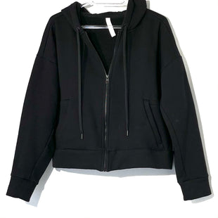 Primary Photo - BRAND: ATHLETA STYLE: ATHLETIC JACKET FLEECECOLOR: BLACK SIZE: M SKU: 262-26275-74819
