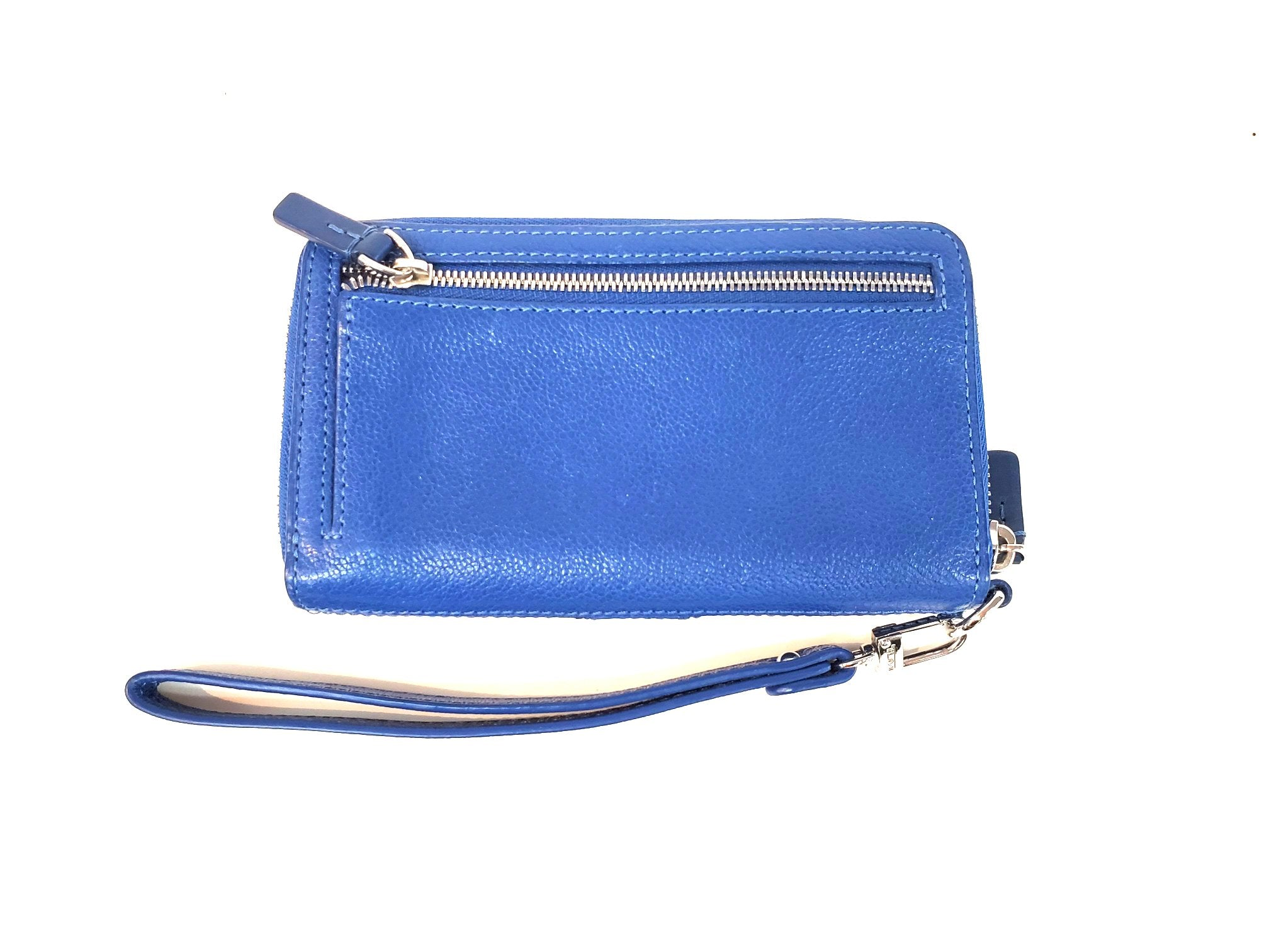 Photo #1 - BRAND: TUMI <BR>STYLE: WRISTLET <BR>COLOR: BLUE <BR>SKU: 262-26298-410R<BR>AS IS <BR>