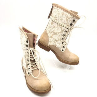 Primary Photo - BRAND: ROXY STYLE: BOOTS ANKLE COLOR: TAN SIZE: 6.5 SKU: 262-26275-76273IN GOOD SHAPE AND CONDITION