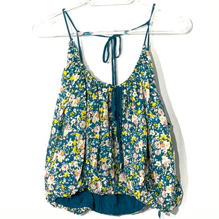 Primary Photo - BRAND: FREE PEOPLE STYLE: TOP SLEEVELESS COLOR: FLORAL SIZE: M SKU: 262-26275-77759