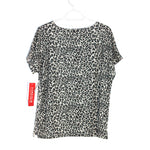 Photo #1 - BRAND: CATHY DANIELS <BR>STYLE: TOP SHORT SLEEVE <BR>COLOR: ANIMAL PRINT <BR>SIZE: M <BR>SKU: 262-26275-60571