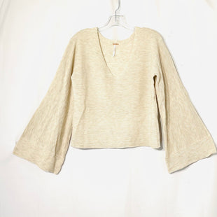 Primary Photo - BRAND: FREE PEOPLE STYLE: SWEATER LIGHTWEIGHT COLOR: BEIGE SIZE: L SKU: 262-26275-73811