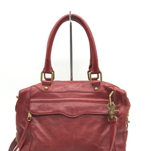 Primary Photo - BRAND: REBECCA MINKOFF STYLE: HANDBAG DESIGNER COLOR: MAROON SIZE: LARGE SKU: 262-26211-140550GENTLE WEARS ON THE CORNER PIPE LININGS, INTERIOR IS VERY CLEAN | OVERALL BAG IS IN EXCELLENT SHAPE AND CONDITION