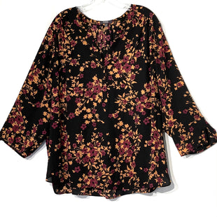 Primary Photo - BRAND: NOT YOUR DAUGHTERS JEANS O STYLE: TOP LONG SLEEVE COLOR: FLORAL SIZE: 2X SKU: 262-26275-67277