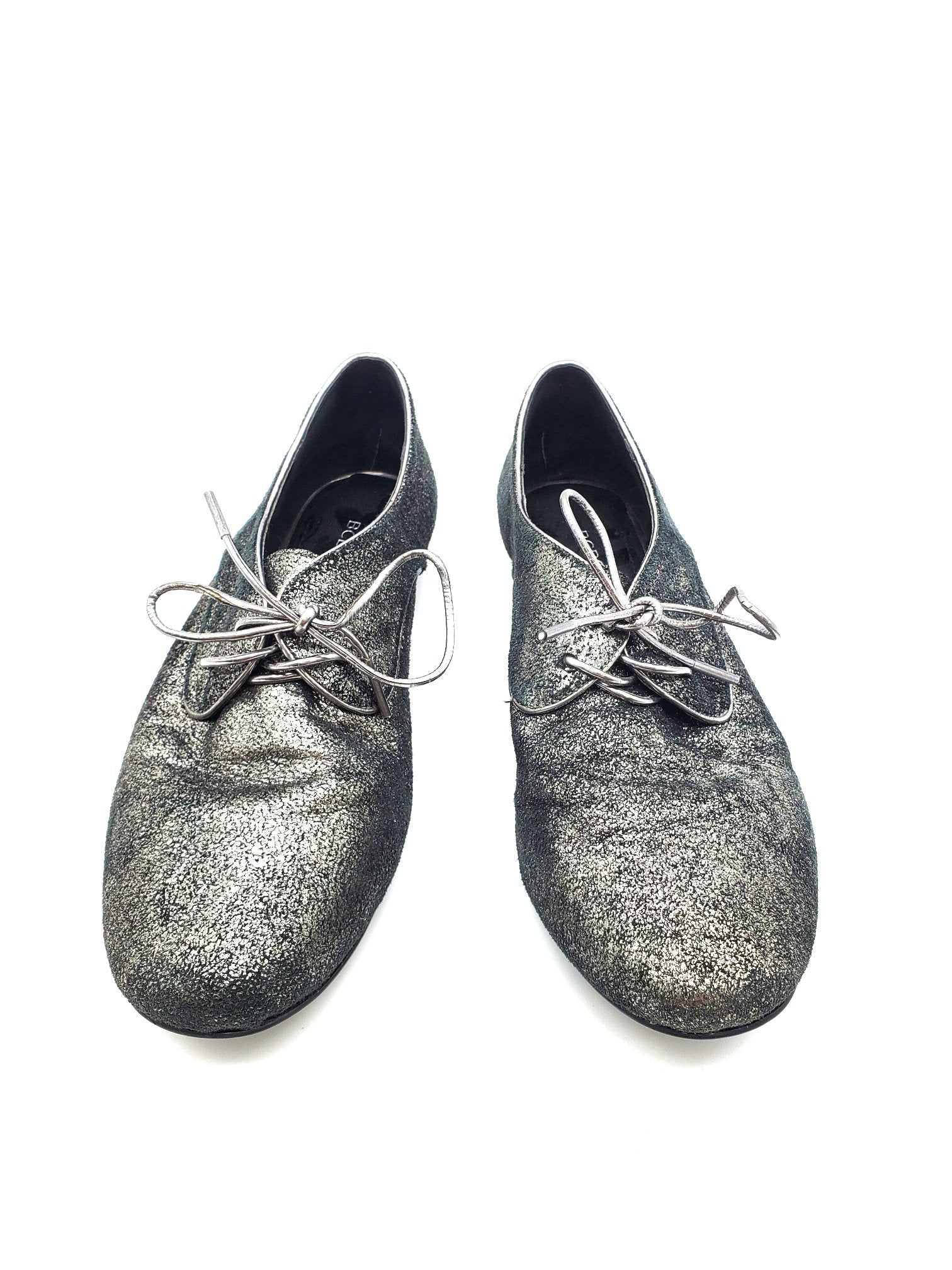 Primary Photo - BRAND: BCBGENERATION <BR>STYLE: SHOES FLATS <BR>COLOR: SPARKLES <BR>SIZE: 6.5 <BR>SKU: 262-26241-41758<BR>AS IS <BR>