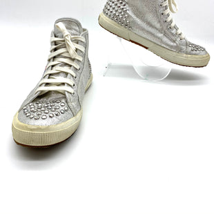 Primary Photo - BRAND: SUPERGA STYLE: SHOES ATHLETIC COLOR: SILVER SIZE: 8 SKU: 262-26275-68354GENTLE WEAR AS IS SEE PHOTOS
